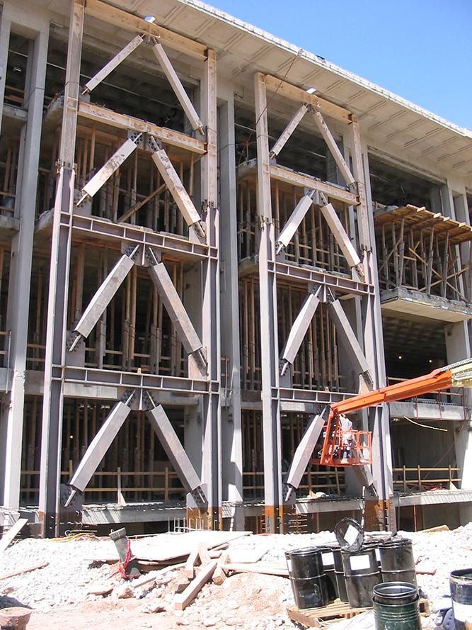 University of Utah J  Willard Marriott Library Seismic