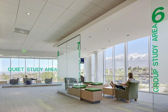 utah valley university classroom building reaveley